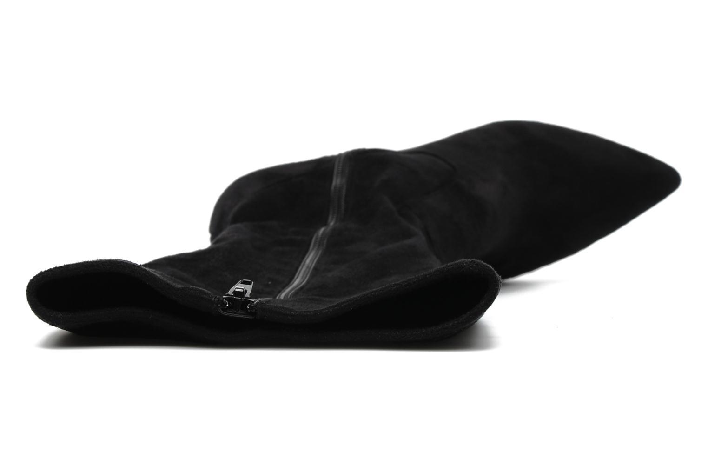 Stiefel Georgia Rose Hupana stretch schwarz ansicht von links