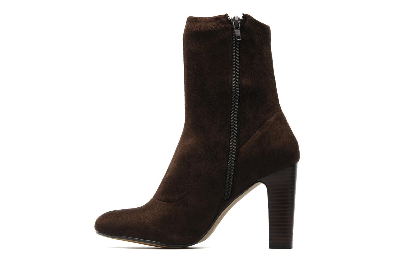 Stiefeletten & Boots Georgia Rose Napani stretch braun ansicht von vorne
