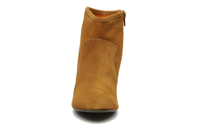 Bottines et boots Georgia Rose Ipana Marron vue portées chaussures