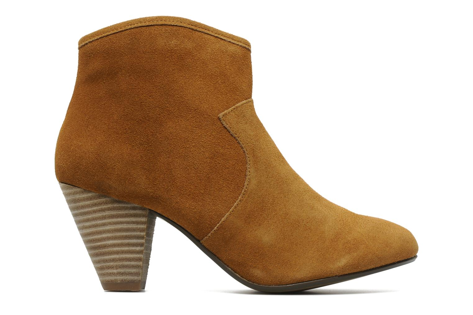 Ankle boots Georgia Rose Ipana Brown back view