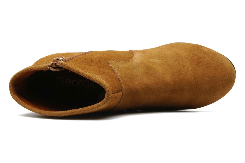 Bottines et boots Georgia Rose Ipana Marron vue gauche