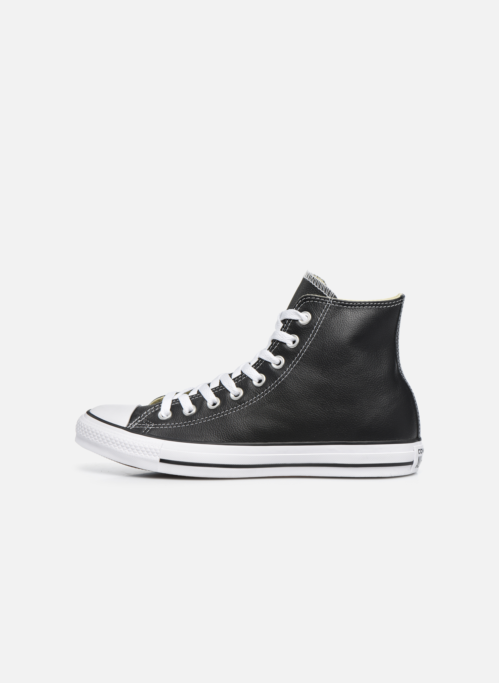 Trainers Converse Chuck Taylor All Star Leather Hi M Black front view