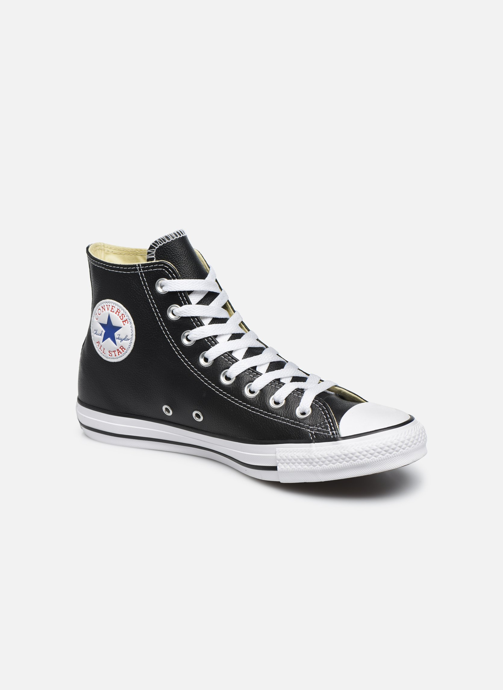 Chuck Taylor All Star Leather Hi M  Noir