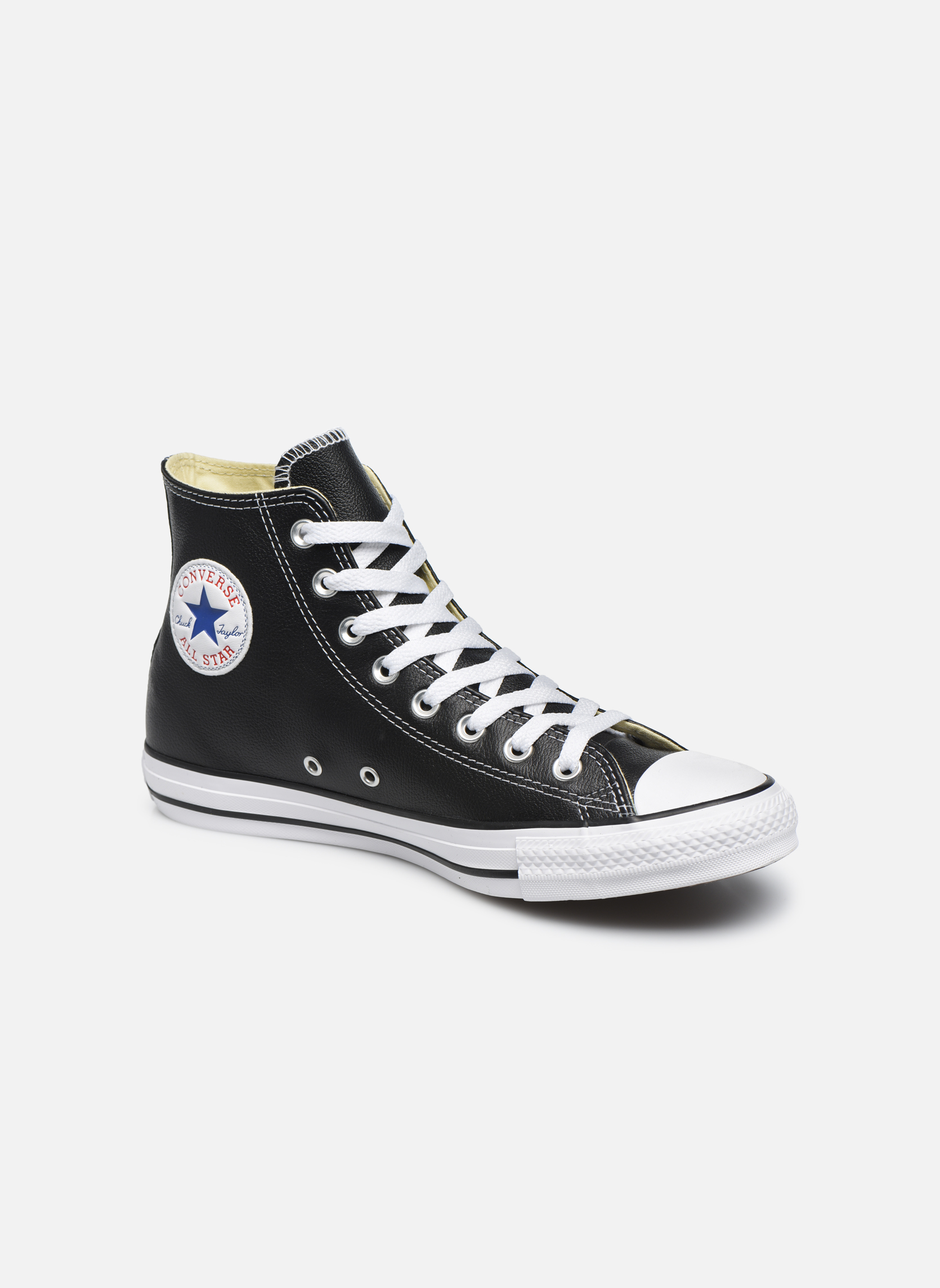 Sneaker Converse Chuck Taylor All Star Leather Hi M schwarz detaillierte ansicht/modell