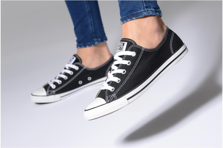 Sneakers Converse All Star Dainty Canvas Ox Grå bild från under