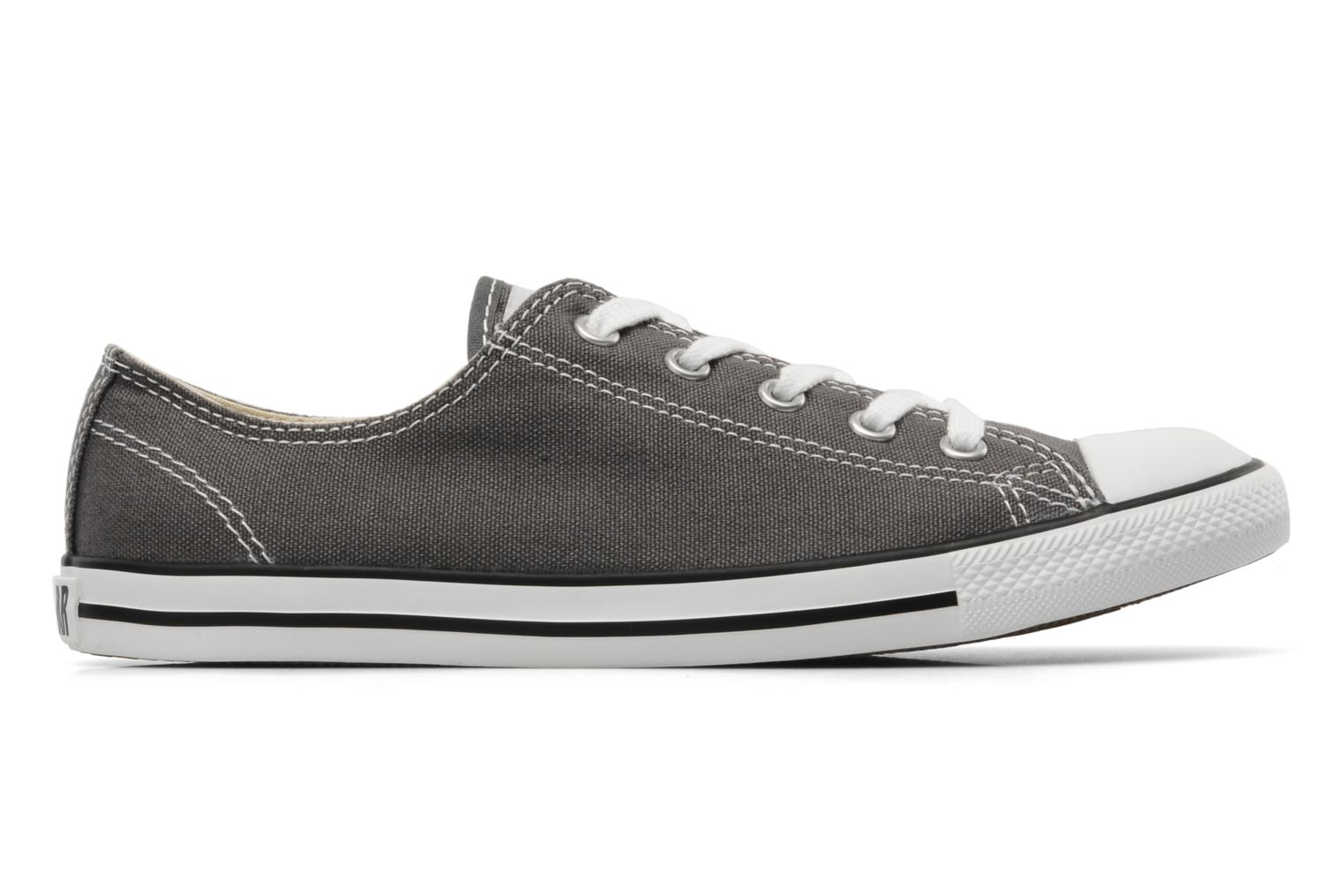 Sneakers Converse All Star Dainty Canvas Ox Grå se bagfra