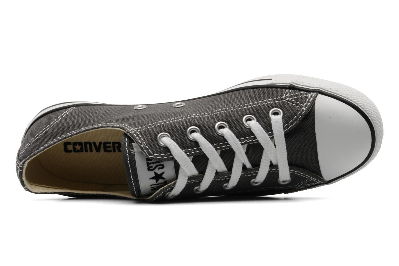 Sneakers Converse All Star Dainty Canvas Ox Grå bild från vänster sidan