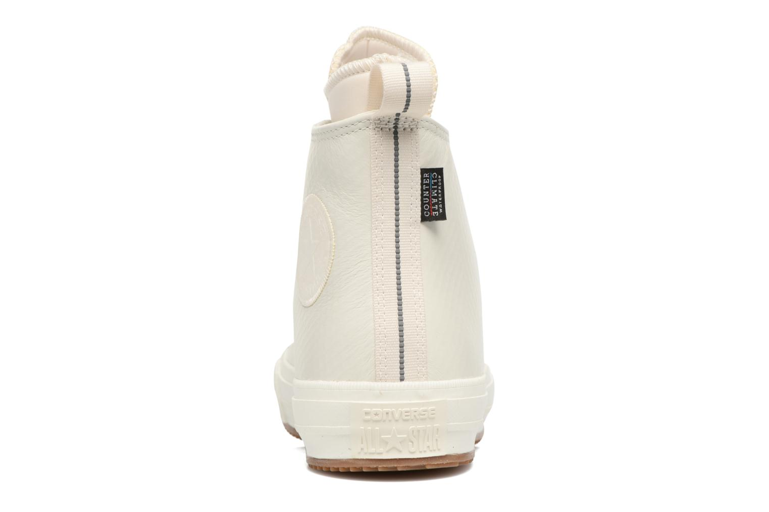 Sneakers Converse Chuck Taylor All Star Leather Hi W Beige immagine destra