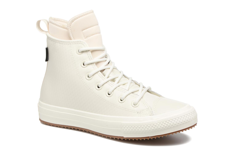 Baskets Converse Chuck Taylor All Star Leather Hi W Beige vue détail/paire