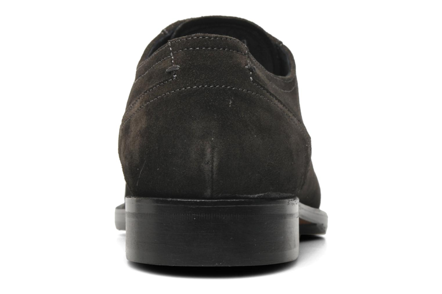 Zapatos con cordones Marvin&Co Thepia Gris vista lateral derecha