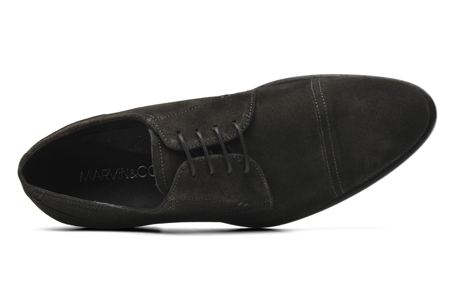 Lace-up shoes Marvin&co Thepia Grey view from the left