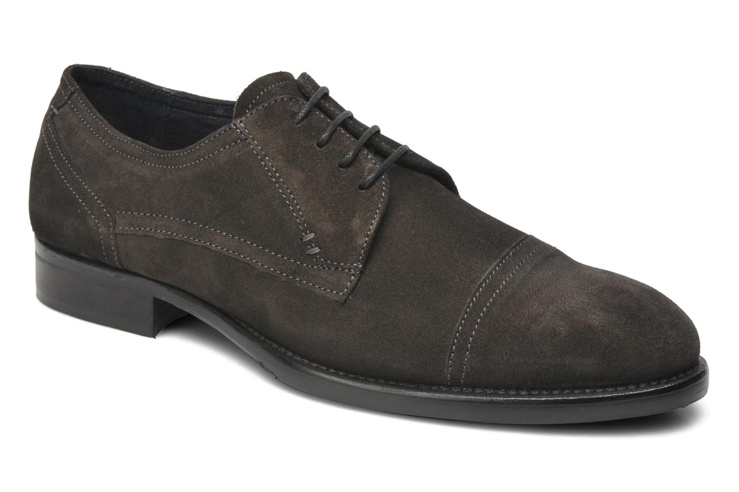 Lace-up shoes Marvin&co Thepia Grey detailed view/ Pair view