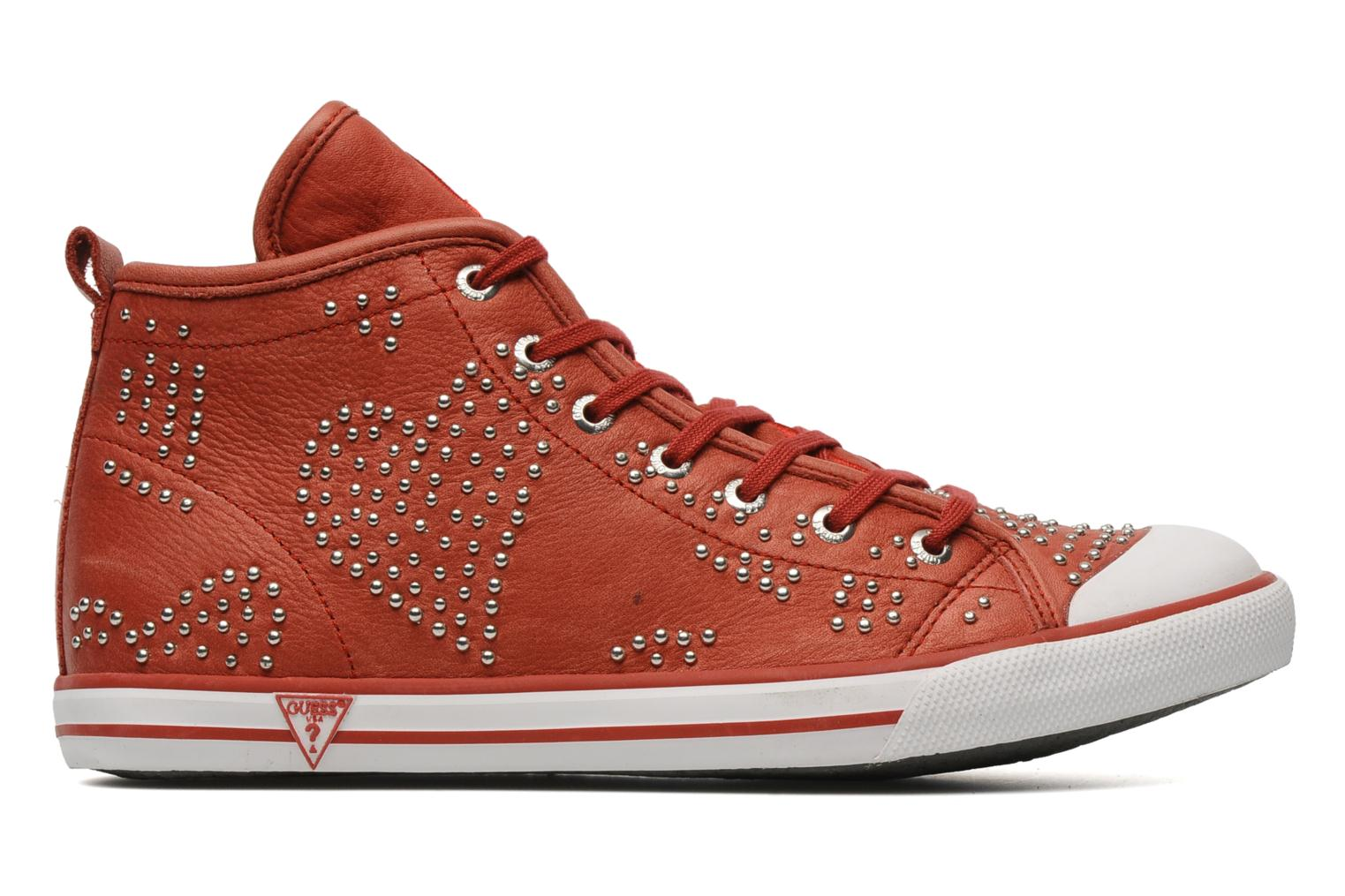 Sneakers Guess Heart Rosso immagine posteriore