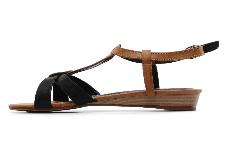 Sandali e scarpe aperte Refresh ARAM Nero immagine frontale