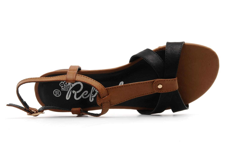 Sandali e scarpe aperte Refresh ARAM Nero immagine sinistra