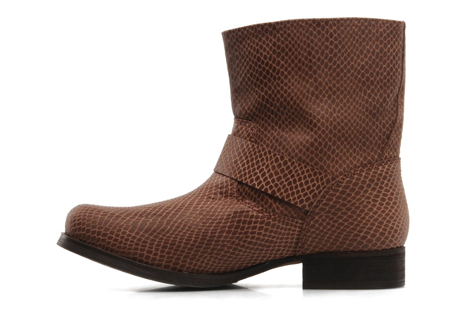 Ankle boots Georgia Rose Boteni Brown front view