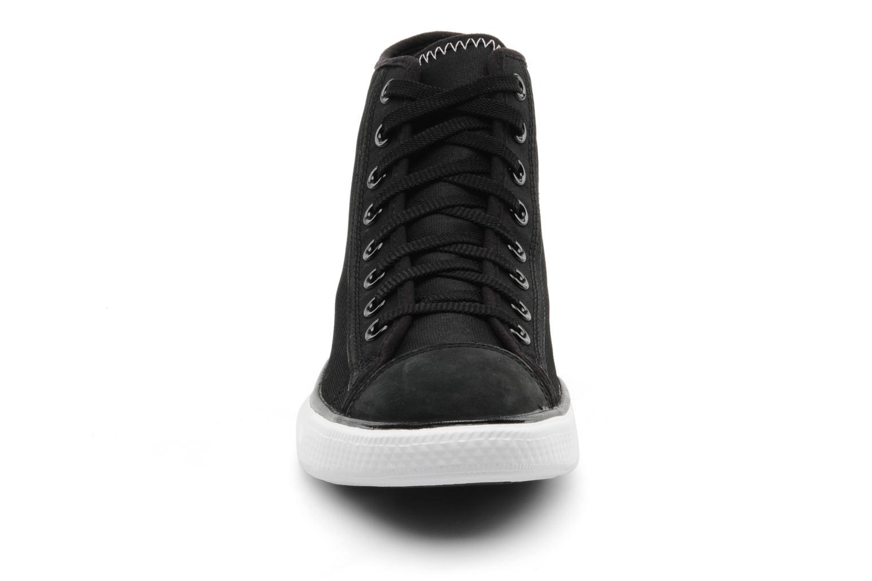 Baskets Converse All Star Re-Mix Hi M Noir vue portées chaussures