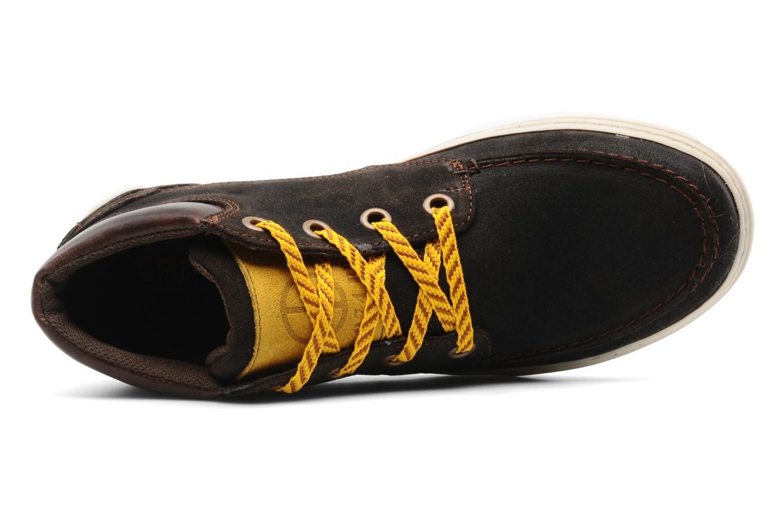 Scarpe con lacci Bullboxer Vikof Marrone immagine sinistra