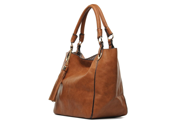 Handbags Georgia Rose Barnabé Brown model view