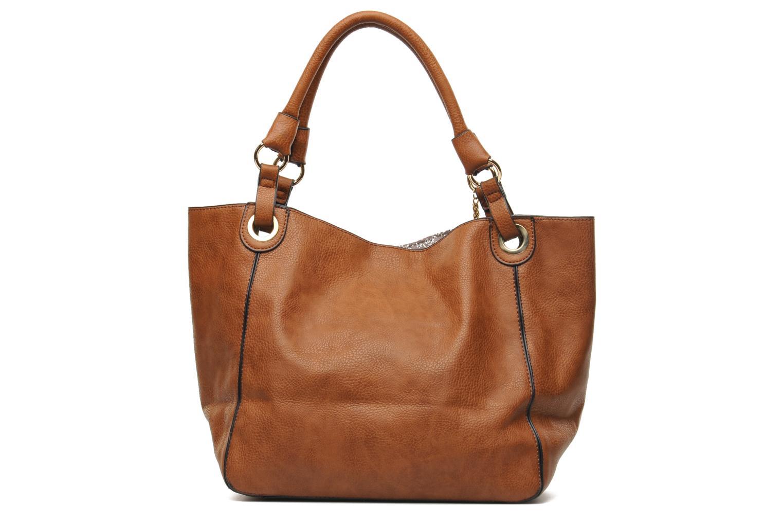 Handbags Georgia Rose Barnabé Brown front view