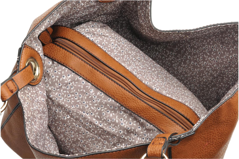 Handtassen Georgia Rose Barnabé Bruin achterkant