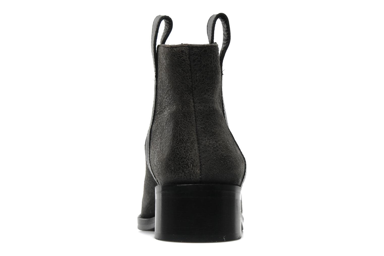 Kim Pull Tab Boots Black