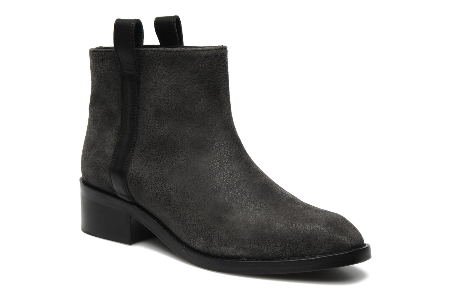 Marques Chaussure femme Surface To Air femme Kim Pull Tab Boots Black