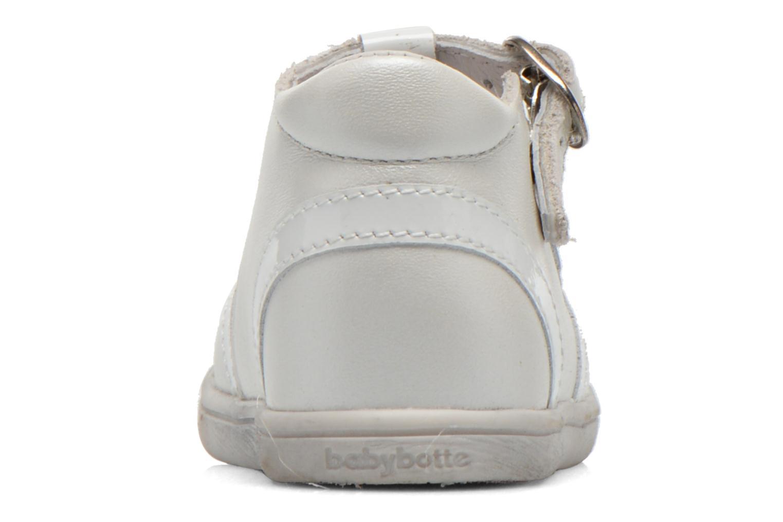 Bottines et boots Babybotte Princess Blanc vue droite