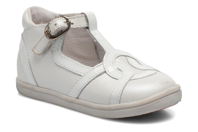 Bottines et boots Babybotte Princess Blanc vue détail/paire