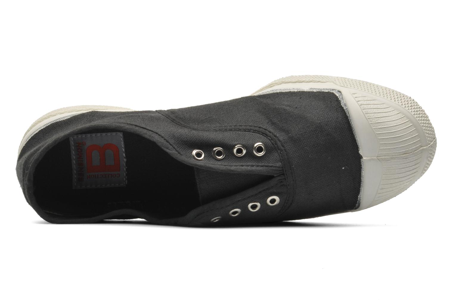 Trainers Bensimon Tennis Elly Black view from the left