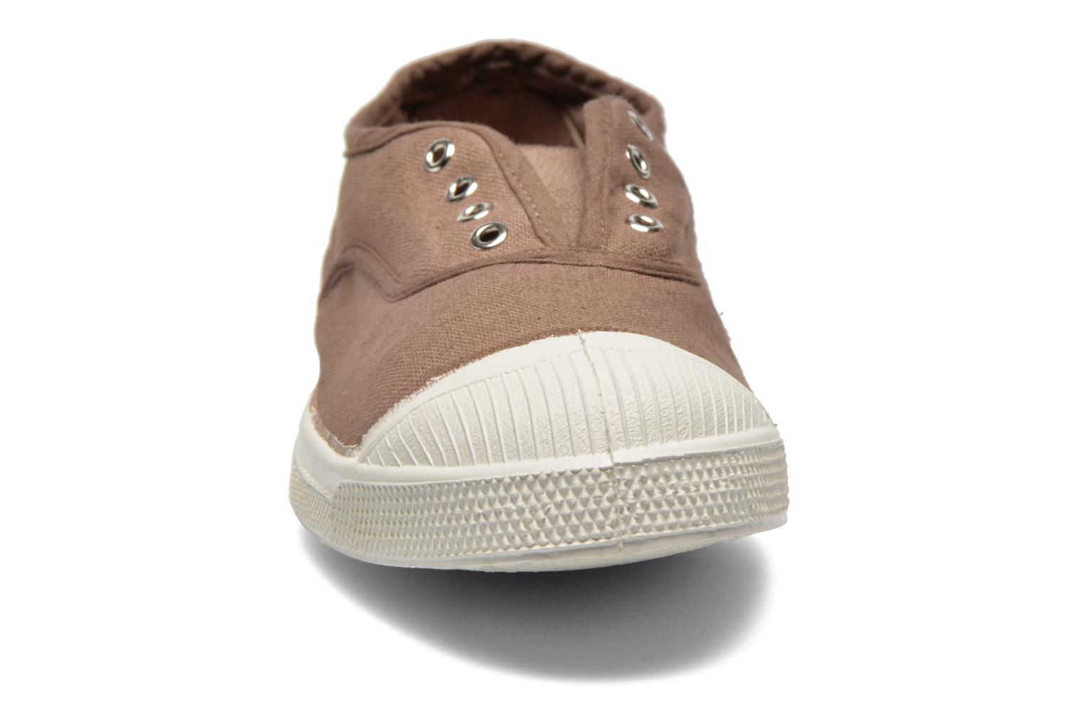 Trainers Bensimon Tennis Elly Brown model view