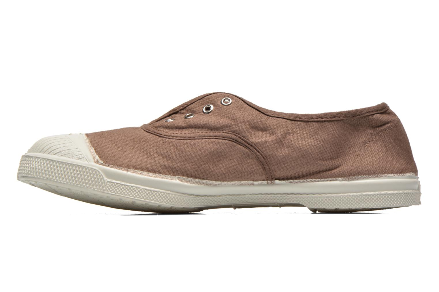 Trainers Bensimon Tennis Elly Brown front view