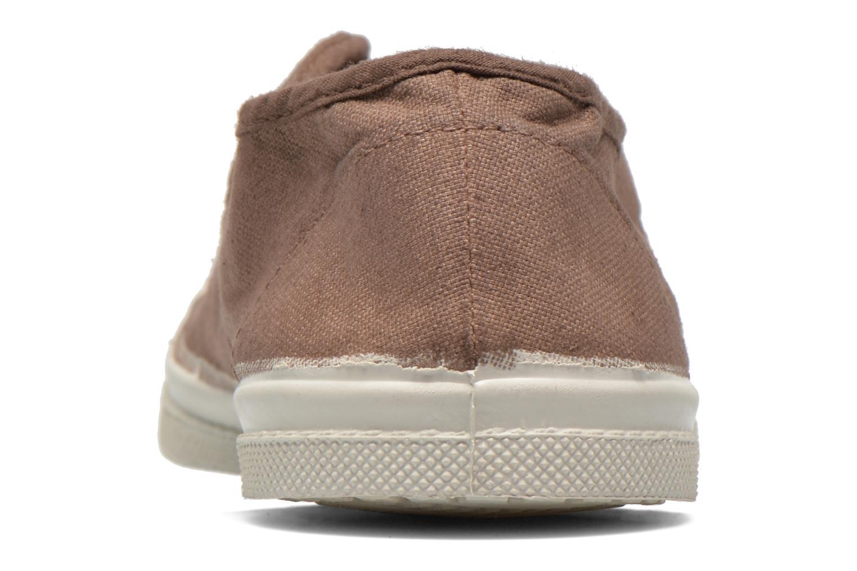 Sneakers Bensimon Tennis Elly Bruin rechts
