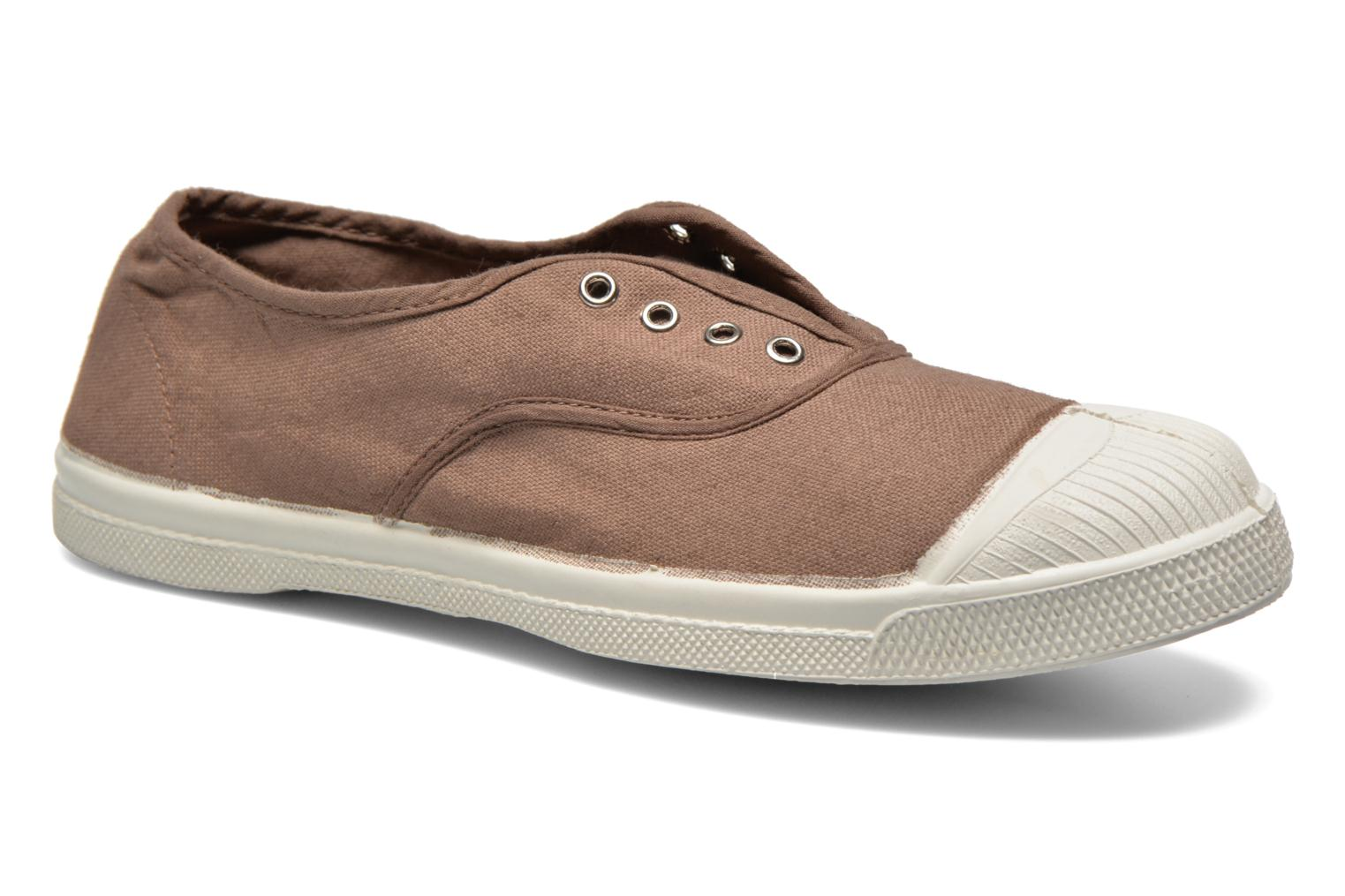 Trainers Bensimon Tennis Elly Brown detailed view/ Pair view