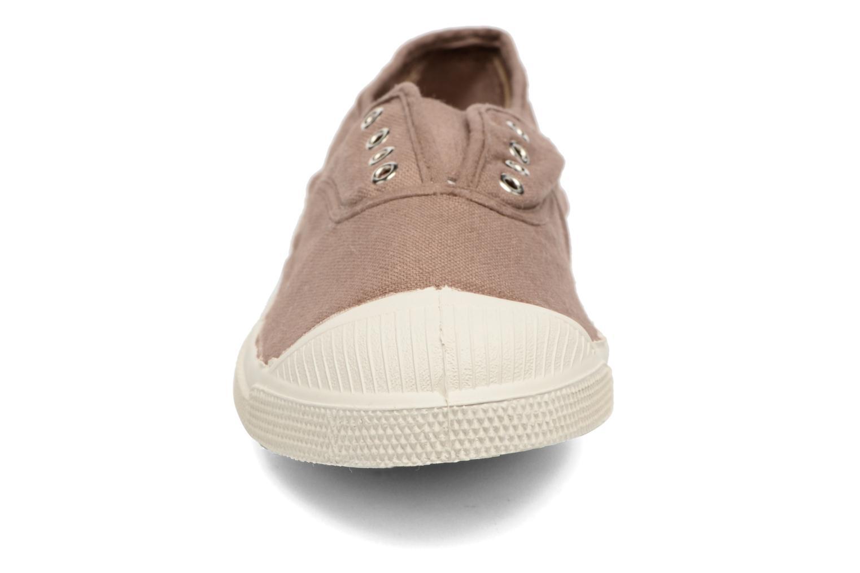Sneakers Bensimon Tennis Elly Marrone modello indossato