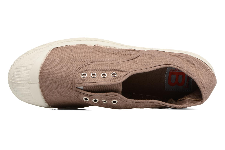Sneakers Bensimon Tennis Elly Marrone immagine sinistra