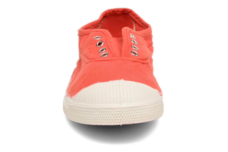 Baskets Bensimon Tennis Elly Rouge vue portées chaussures