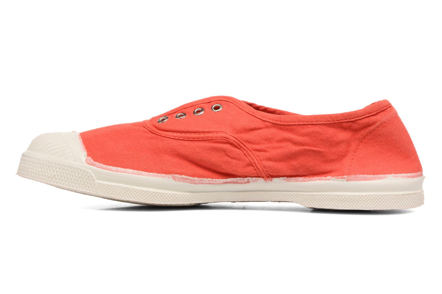 Baskets Bensimon Tennis Elly Rouge vue face