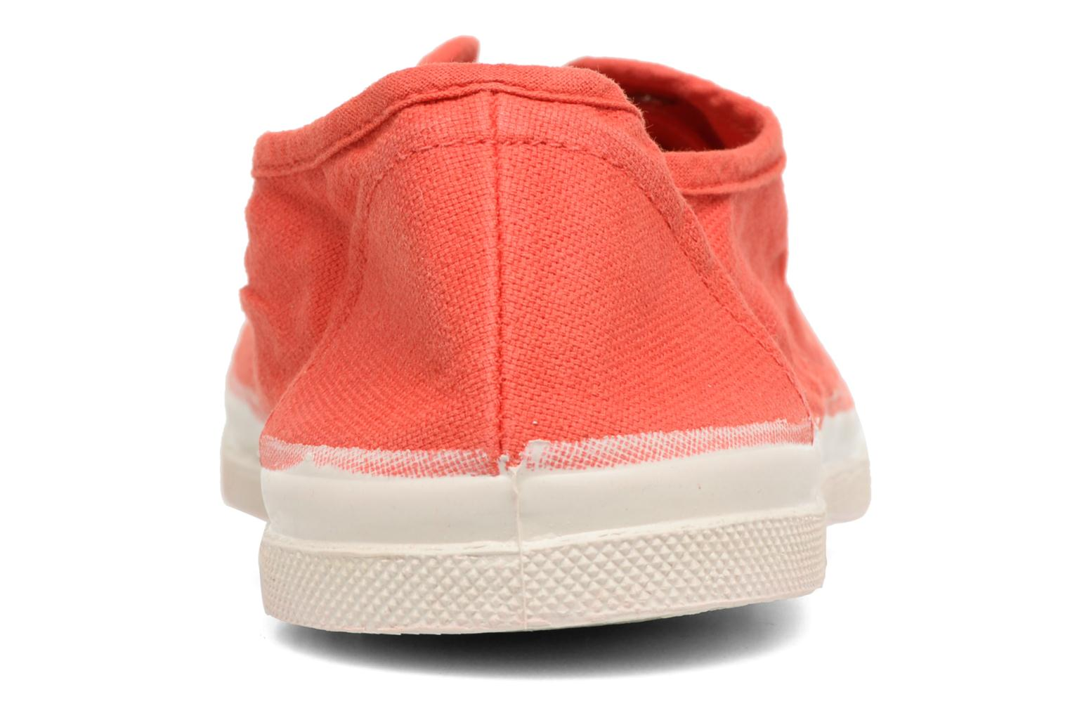 Trainers Bensimon Tennis Elly Red view from the right