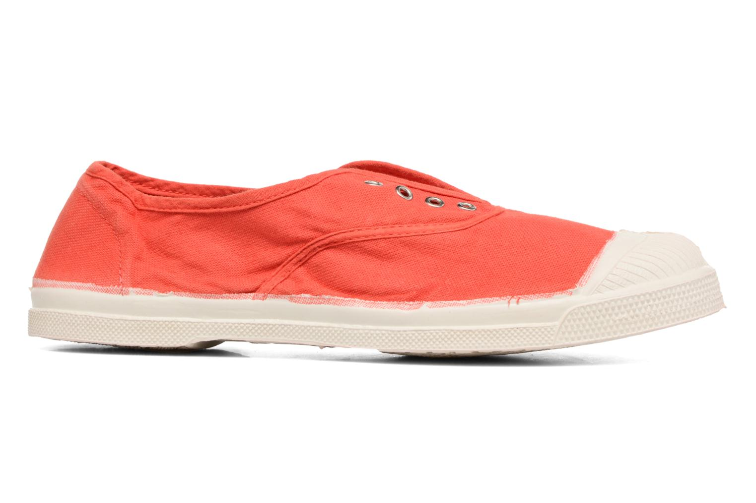 Trainers Bensimon Tennis Elly Red back view