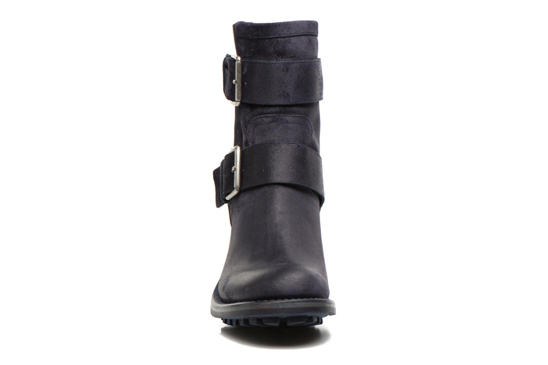 Bottines et boots Free Lance Biker 7 Mini Strap Bleu vue portées chaussures