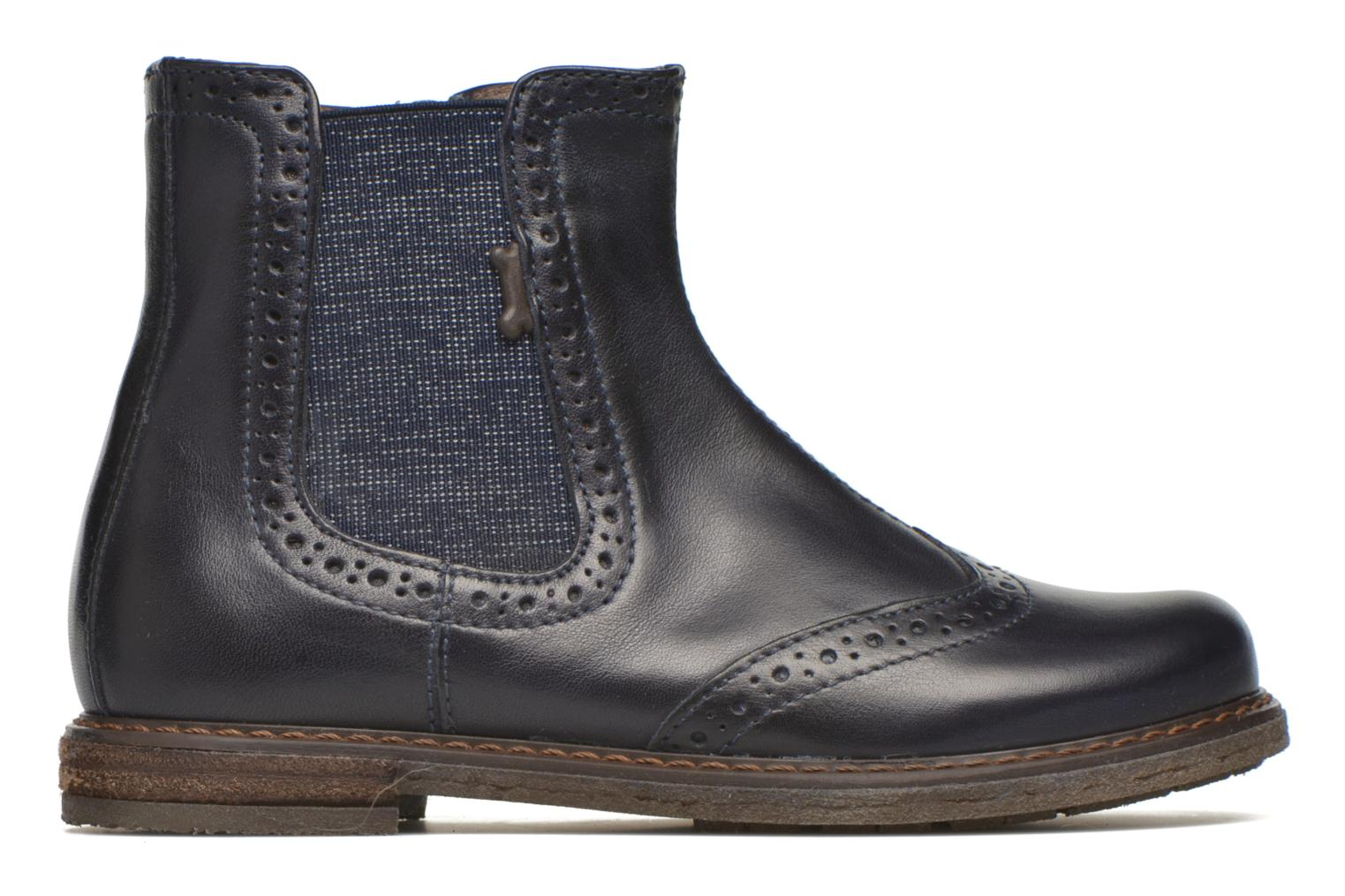 Evan Calf Dark Blue