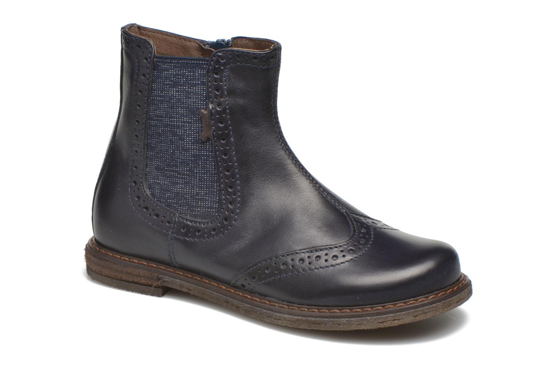 Bottines et boots Stones and Bones Evan Bleu vue détail/paire