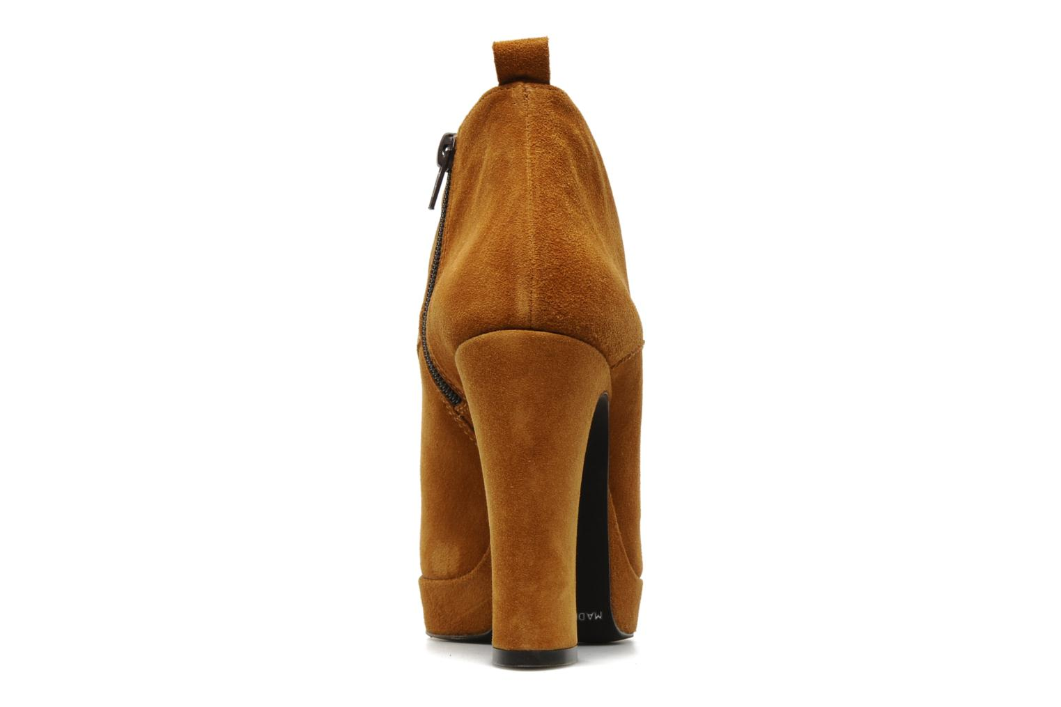 Ankle boots Georgia Rose Nuts Brown view from the right