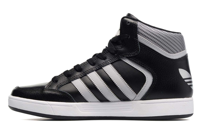 Sneakers Adidas Originals Varial Mid Zwart voorkant