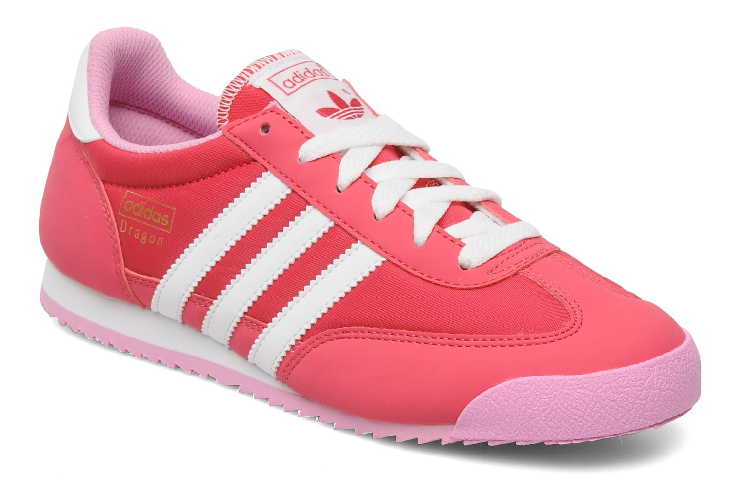 adidas dragon pink trainers