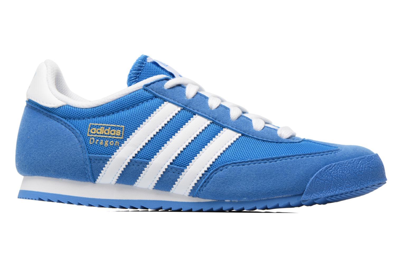 Baskets Adidas Originals Dragon J Bleu vue derrière