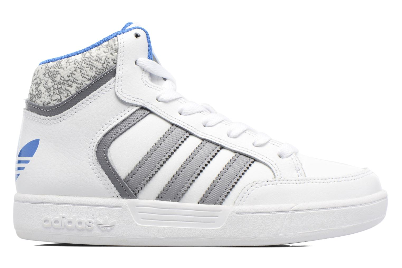 Baskets Adidas Originals Varial Mid J Blanc vue derrière