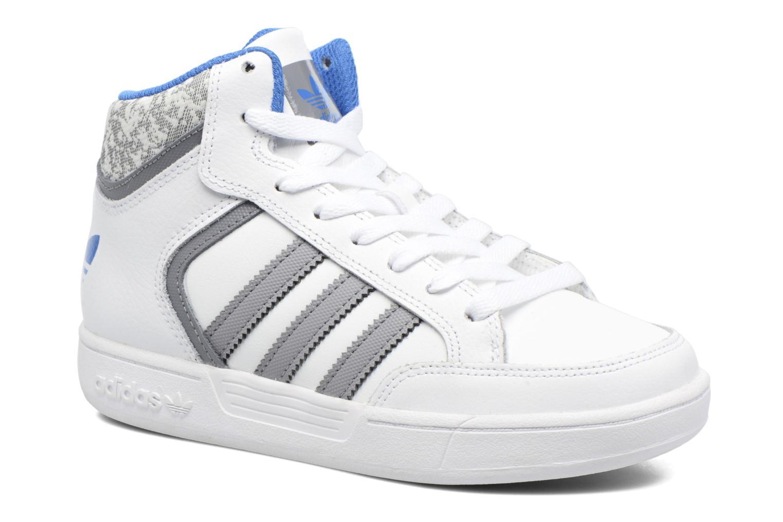 Baskets Adidas Originals Varial Mid J Blanc vue détail/paire