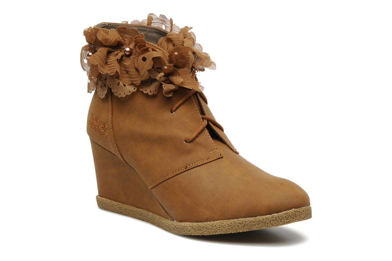 Boots en enkellaarsjes Molly Bracken Megan Bruin detail